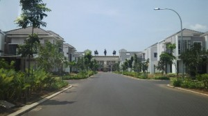 Landscaping di Green Lake City Kosambi Jakarta Barat oleh Biosis